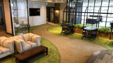 渋谷区70坪-お洒落なオフィス