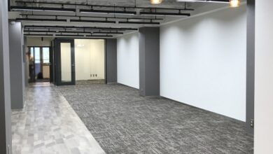 千代田区30坪-シックなセットアップオフィス
