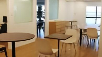 渋谷区23坪+19坪_2フロアのデザインオフィス(分割可)